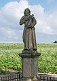 2018 Jaszkówka, figura św. Franciszka 3.jpg
