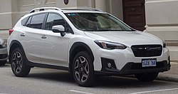 2018 Subaru XV (G5X) 2.0iS wagon (2018-09-17) 01.jpg