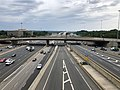 2019-06-24 16 28 33 View north along Interstate 95 (Henry G. Shirley Memorial Highway) from the overpass for the ramp from westbound Virginia State Route 644 (Franconia Road) to southbound Interstate 95 in Springfield, Fairfax County, Virginia.jpg