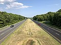 2019-07-28 17 03 59 View south along Interstate 695 (Baltimore Beltway) from the overpass for Trappe Road in Dundalk, Baltimore County, Maryland.jpg