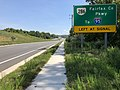 2019-08-12 12 29 04 View north along U.S. Route 1 (Richmond Highway) just south of Virginia State Route 286 (Fairfax County Parkway) in Fort Belvoir, Fairfax County, Virginia.jpg