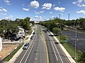2019-08-25 11 18 50 View north along U.S. Route 1 (Southwestern Boulevard) from the overpass for Francis Avenue in Arbutus, Baltimore County, Maryland.jpg