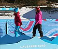 2020-01-15 Biathlon at the 2020 Winter Youth Olympics – Mixed Relay – Mascot Ceremony (Martin Rulsch) 06.jpg