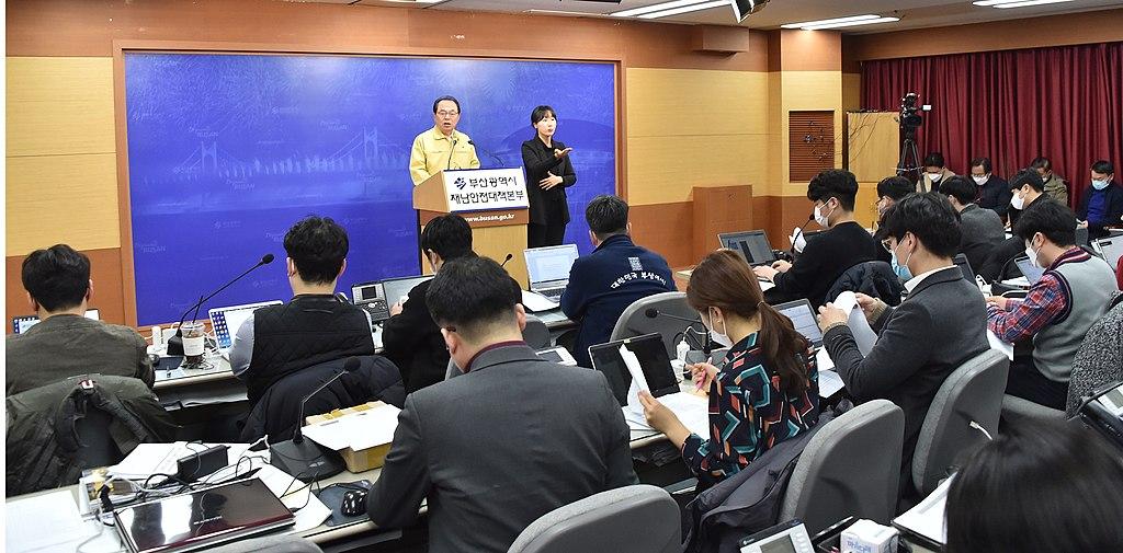20200224 코로나19 관련 기자브리핑(기자회견장) 05