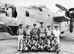 21 Squadron RAAF Liberator aircrew Fenton NT Mar 1945 AWM NWA0730.jpg