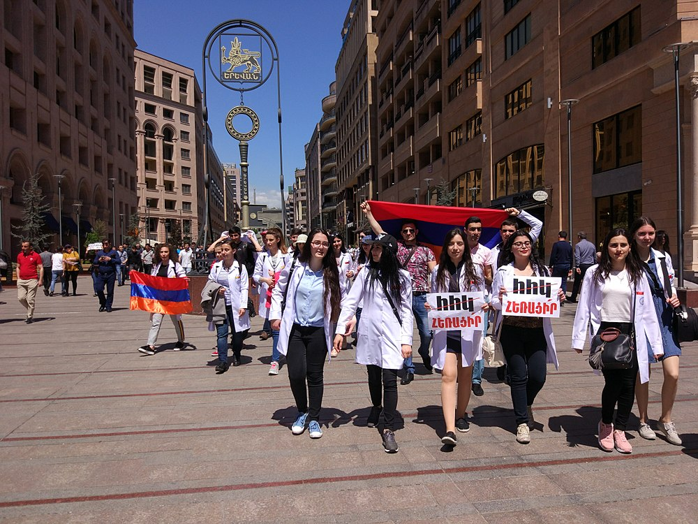 25.04.2018 Protest Demonstration, Yerevan.jpg
