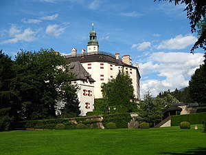Innsbruck Festival of Early Music - Ambras Castle, one of the festival's main concert venues