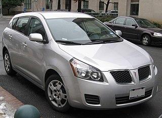 Pontiac Vibe Motor vehicle