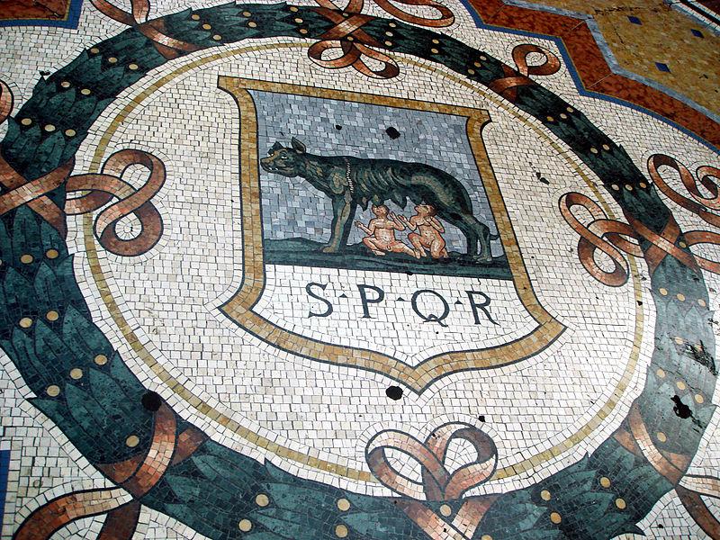 mosaic  spqr
