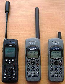 Trois modèles de téléphones par satellite, de marques Iridium et Thuraya. c076874655a9