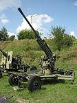 52-K anti-aircraft gun at the Muzeum Polskiej Techniki Wojskowej in Warsaw (1).JPG