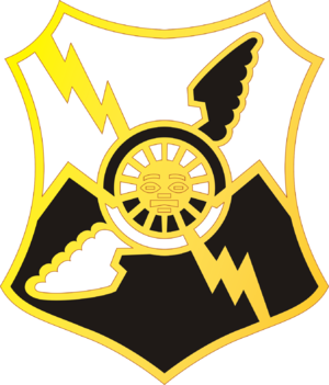 61st Air Defense Artillery Regiment - Image: 61 ADA Bde DUI