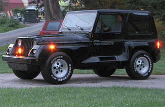 Jeep Wrangler - 1991 Jeep Renegade