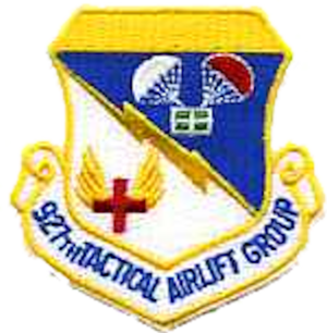 927th Air Refueling Wing - Image: 927th Tactical Airlift Group Emblem