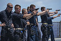 9mm pistol qualification aboard USS Shiloh 150615-N-BB269-132.jpg