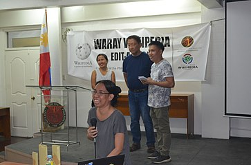9th Waray Wikipedia Edit-a-thon 30.JPG
