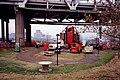 A0l013 Painting equipment at JFK Bridge, Louisville (33233529546).jpg