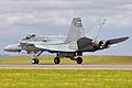 A21-22 McDonnell Douglas F-A-18A Hornet RAAF (6871329752).jpg
