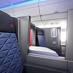 A350- Interior - Delta One suite (37159924332).jpg