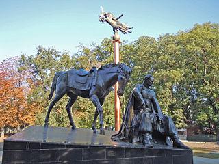 monument to Antin Holovaty