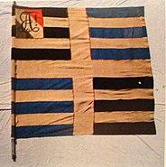 AKV Alemannia 4. Fahne 1945 Rückseite