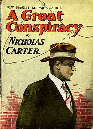 Nick Carter (literary character) - From The New Magnet Library Collection at The George Peabody Library