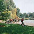 A busker singing at Boston Public Garden on Labor Day Weekend.jpg