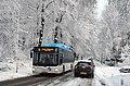 A gas-driven bus for environmental purposes in winterconditions Schaarsbergen Bakenbergseweg 6 Februari 2013 - panoramio.jpg