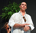 A male model gets the crowd excited (IMG 7683a) (5459516679).jpg