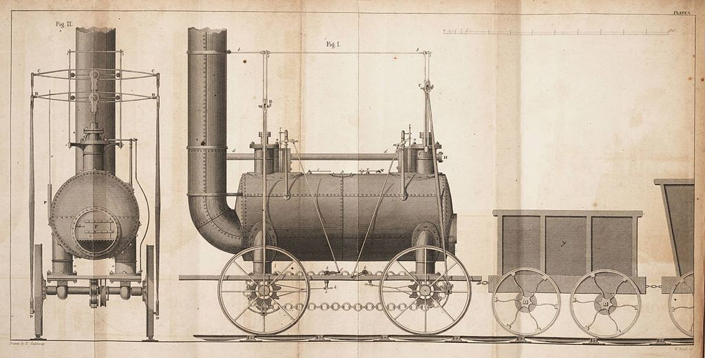 File a practical treatise on rail roads 1825 plate for 1825 2