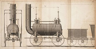 Killingworth locomotives - One of the Killingworth engines