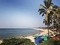 A view of Sinquerim Beach near Panaji, Goa (December 2018).jpg