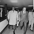 Aankomst leider Rhodesisch Patriottisch Front , Joshua Nkomo, Bestanddeelnr 929-6773.jpg