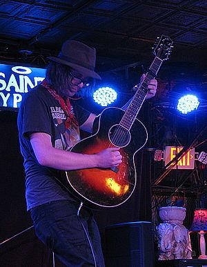 Aaron Lee Tasjan - Aaron Lee Tasjan performing at The Saint in Asbury Park, NJ on July 8, 2014