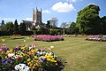 Abbey Gardens and St Edmundsbury Cathedral - geograph.org.uk - 1877465.jpg