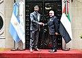 Abdullah bin Zayed Al Nahyan and Jorge Faurie 01.jpg