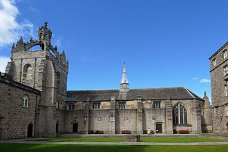 King's College, Aberdeen - King's College quad