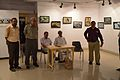 Abhoy Nath Ganguly Addressing - Inaugural Function - Atanu Ghosh Solo Exhibition - Kolkata 2014-09-16 8023.JPG
