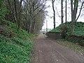 Abutment of Newtyle and Glammis Railway bridge - geograph.org.uk - 928268.jpg