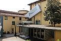 Accademia di Firenze, veduta sul cortile del museo dell'accademia 04.JPG