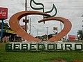 Acesso a cidade de Bebedouro, com um coração em forma de laranja. A citricultura é uma da fontes de riqueza do município. - panoramio.jpg