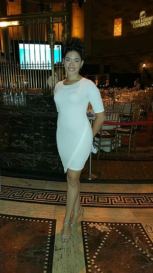Stephanie Andujar - Stephanie Andujar attends the Spirit of the Dream Gala at Gotham Hall in New York City.