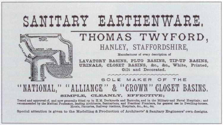 Ad 1884 twyford