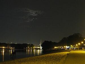 Ada Ciganlija By Night
