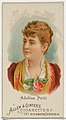 Adelina Patti, from World's Beauties, Series 1 (N26) for Allen & Ginter Cigarettes MET DP838110.jpg