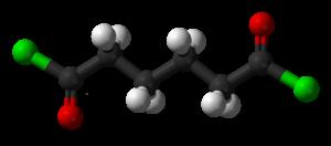 Adipoyl chloride - Image: Adipoyl chloride 3D balls