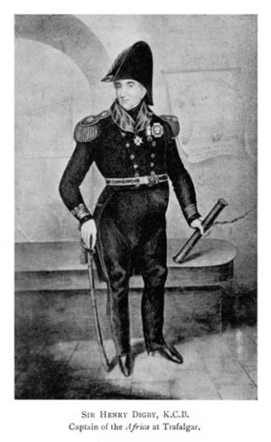 Henry Digby (Royal Navy officer) - Image: Admiral of the Blue Sir Henry Digby