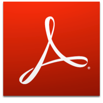 Adobe Acrobat - Image: Adobe Reader XI icon