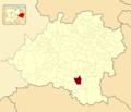 Adradas in Soria Province locator.png