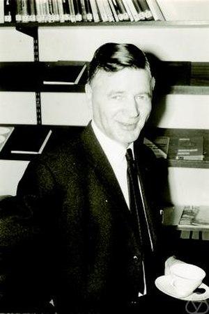 Adriaan Cornelis Zaanen - Zaanen in 1967